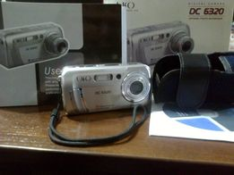 Фотоаппарат цифровой UFO 6320 с картой памяти