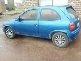 Am looking to swap my Opel Corsa two door with a small bakkied