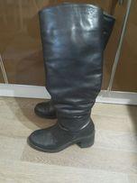 Сапоги кожаные 38 размер