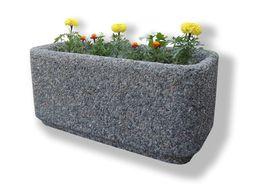 Уличные вазоны бетонные для сада, вазы, цветники садовые для цветов