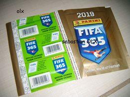Panini Fifa 365 naklejki 2019 nowe 50 saszetek 250 naklejek