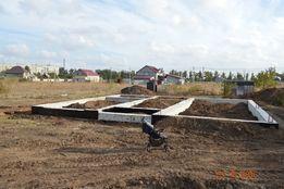 Продам участок 10 соток с фундаментом (станция Усатово)