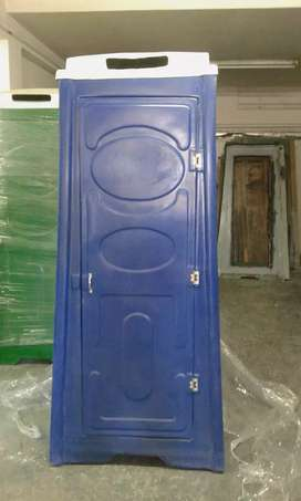 Fibreglass portable toilets