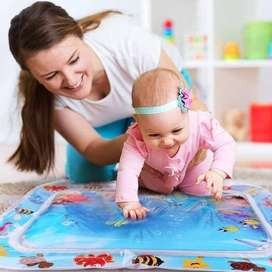 Tummy time play mats