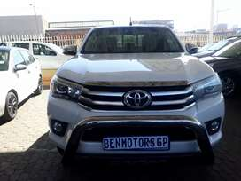 For Sale: 2017 Toyota Hilux Raider, Engine 2.8GD6,Automatic,57000km