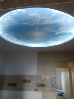 Акция, ванна в подарок! Натяжные потолки. Ваша идея, наша реализация!