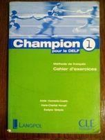 Książka Champion 1 pourle DELF (j. francuski) + ćwiczenia