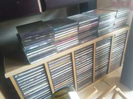 Approx. 300 CD's for Sale with Cabinets