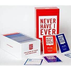 Never Have I Ever – Card Game