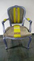 design krzesło barok glamour ludwik