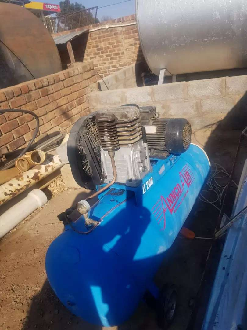 annco air 3 phase compressor 0