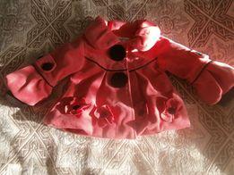 Красивое деми пальто для принцессы.