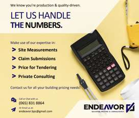 Endeavor Building Pricing and Consultants