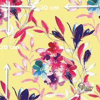 Materiał lub tapeta na zamówienie wzór: Kompozycja kwiatowa - seria 20