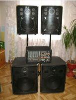 Комплект звуковой аппаратуры мощность = 1200Вт