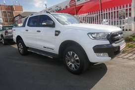 2018 FORD RANGER 3.2XLT 4X4 WILDTRACK