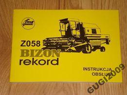 Instrukcja Obsługi BIZON REKORD Z058 ursus zetor