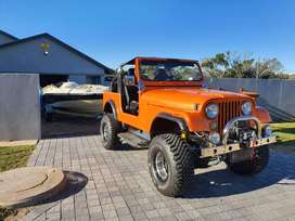 Willys Jeep 4x4 with Lexus V8 Engine and Auto Box