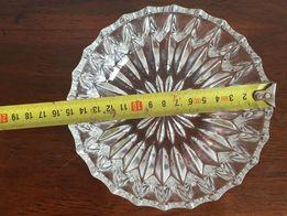 Szklana misa salaterka patera kryształ