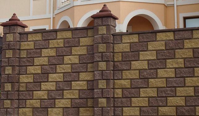 Блок заборный, блок колотый, блок декоративный, рваный камень, скала, Житомир - изображение 6