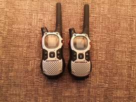 Motorola 2 way radios walkie-talkie