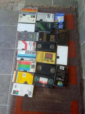 Video tapes for sale R15 each