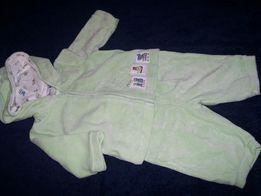 Komplet, bluza, spodnie z miękkiego pluszu 0M/3M, rozmiar 62 cm