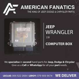 Selling Jeep Wrangler 2.8 used Computer Box