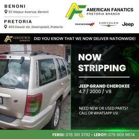 Now stripping Jeep Grand Cherokee 2000 for spares!