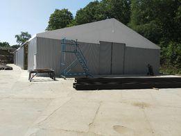 hale namiotowe, konstrukcje stalowe