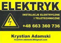Firma KJM elektryk instalacje elektryczne i teletechniczne