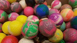 Pilki golfowe kolorowe mix nowe