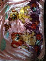 Детское одеялко-плед