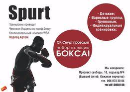 Бокс в Кременчуге.Групповые и индивидуальные тренировки по боксу