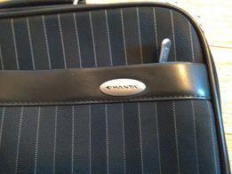 Torba na laptopa 15 solidna elegancka z paskiem