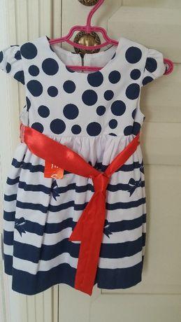 Красивое платье, на 1-3 года Агрономичное - изображение 1