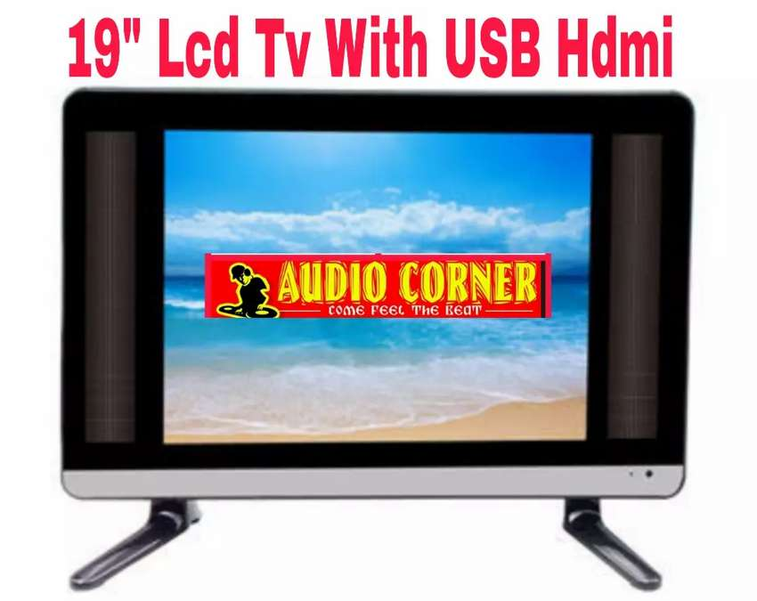 "Tv Led 19"" Brand New With Hdmi Vga Usb 0"
