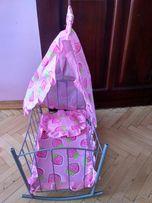 Металлическая кровать для куклы