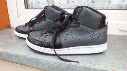 Super buty sportowe wysokie skóra marki nike w roz 40,5