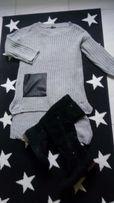 Dłuższy sweterek rm 42/44