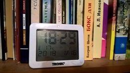часи електронні з встроєнною температурою для дому чи автомобіля