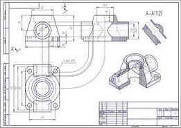 Чертежи, инженерная графика, начертательная геометрия