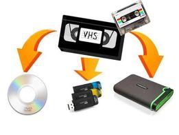 Оцифровка VHS видеокассет, перезапись в FullHD 1080р Звук 320kb