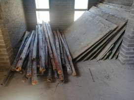 Poles and shutterply boards