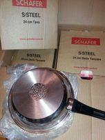 Набор кастрюль + сковорода STILVOLL Schafer