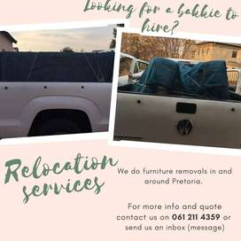 Looking for a bakkie? | Relocation service I Hire a bakkie