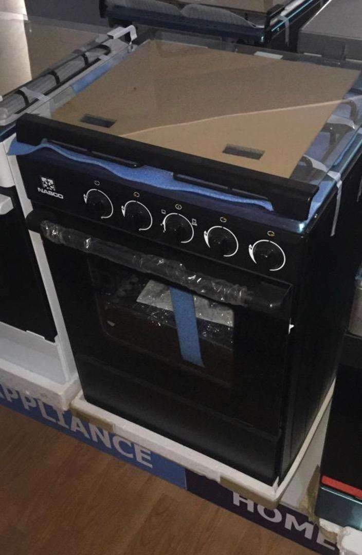 POWERFUL NASCO 4 BURNER (60X60) GAS COOKER GRILL & OVEN 0