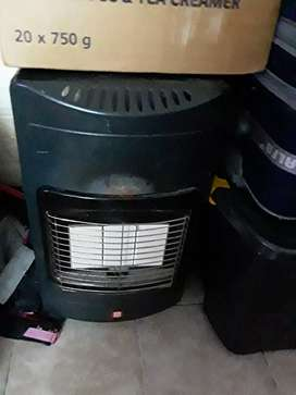 Gas heater for sale.