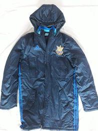 Спортивная зимняя куртка парка пуховик Adidas