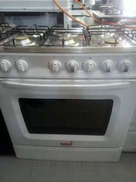 6 plates gas stoves with oven